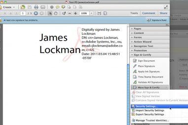 How to Create E-Signatures in Adobe Acrobat