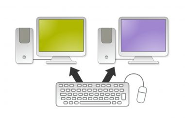How to Share Mouse and Keyboard between Computers