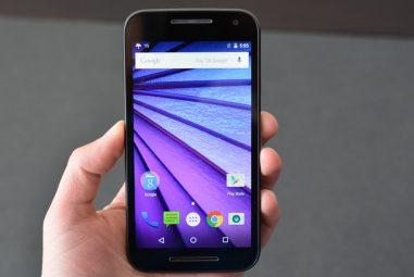 How to Take Screenshots in Motorola Moto G3