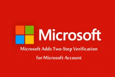 Microsoft Adds Two-Step Verification for Microsoft Account