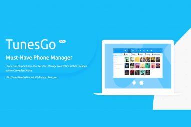 New Wondershare TunesGo Phone Manager Review