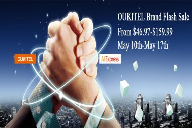 OUKITEL Brand Flash Sale on AliExpress: Starting from $46.97
