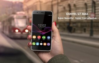 Oukitel U7 Max available in Pre-sale for the price of $64.99