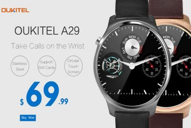 Oukitel A29 Smartwatch – Sensational Design with SIM Card support