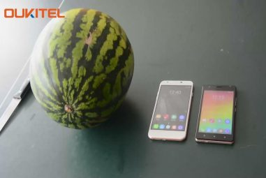 Oukitel U7 Plus and C4 faced Drop Crashing Test with Watermelon – Watch video here