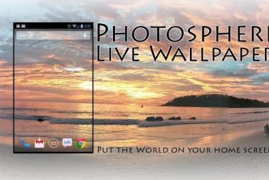 Photosphere Live Wallpaper Set Panoramic Live Wallpaper on Any Android Device