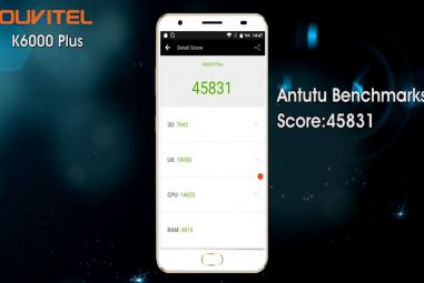 OUKITEL K6000 Plus: AuTuTu Score, Fast Charger, Release Date and Price