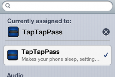Quickly Enable your iPhone Passcode using TapTapPass