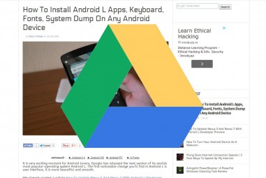 Save Online Text Easily On Google Drive With Save Text To Google Drive Chrome Extension