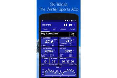 Ski Tracks – Winter Sports / Snowboarding Tracker App Review