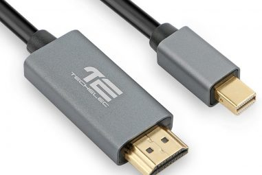 TechElec Mini DP to HDMI Cable for iMac MacBook Pro Air LCD TV Review