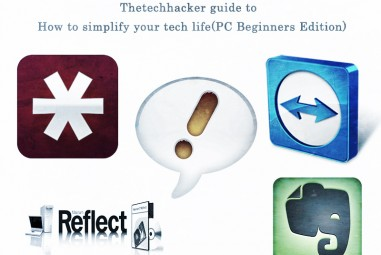 Thetechhacker Guide To How To Simplify Your Tech Life (PC-Beginners Edition)