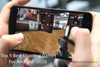 Top 5 Best Shooting Games For Android – 2016