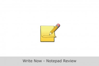 Sponsored App Review – Write Now – Notepad