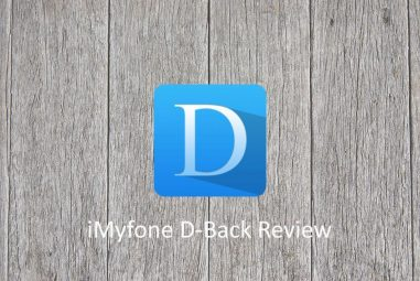 iMyfone D-Back – Recover Your iOS Data Even in the Most Hopeless Situations