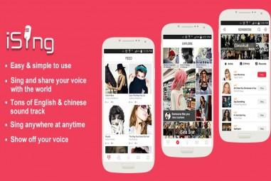 iSing Karaoke – Let's Sing App – A Karaoke Social Android App